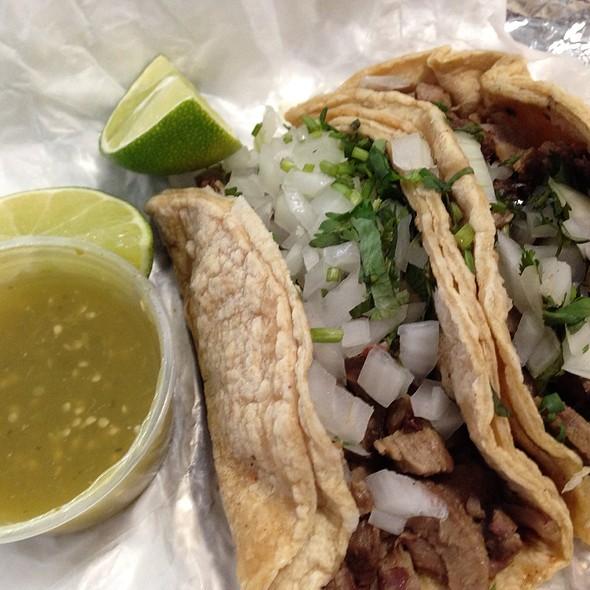 Tacos De Lengua @ El Charrito Truck