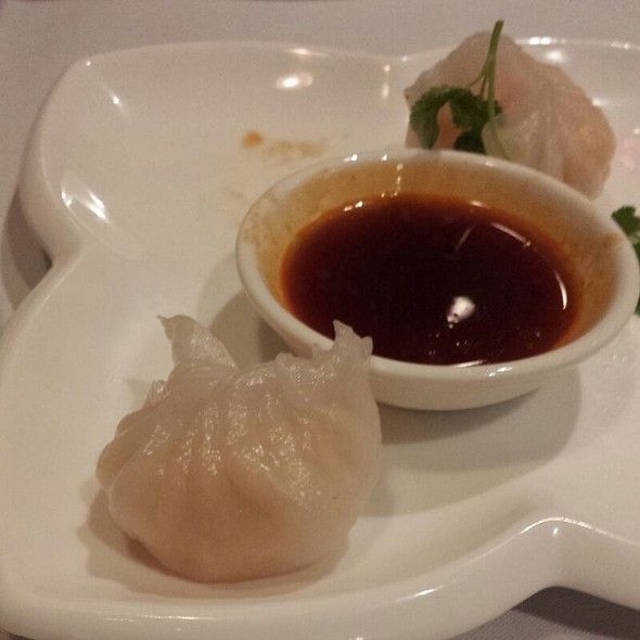 Shrimp Dumplings @ Elena Wu Restaurant & Sushi Bar