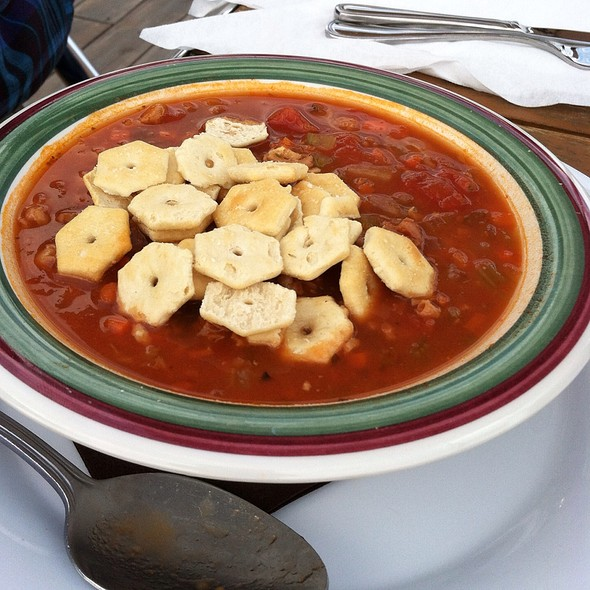Manhattan Clam Chowder - Baia, Somers Point, NJ