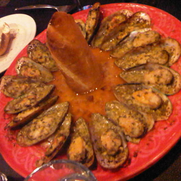 Baked Mussels @ Cafe Normandie