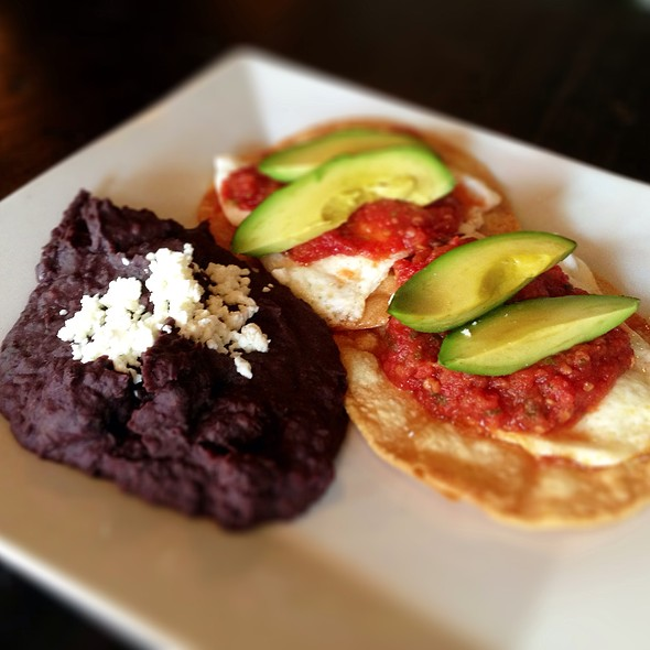 Huevos rancheros @ Highland Cafe