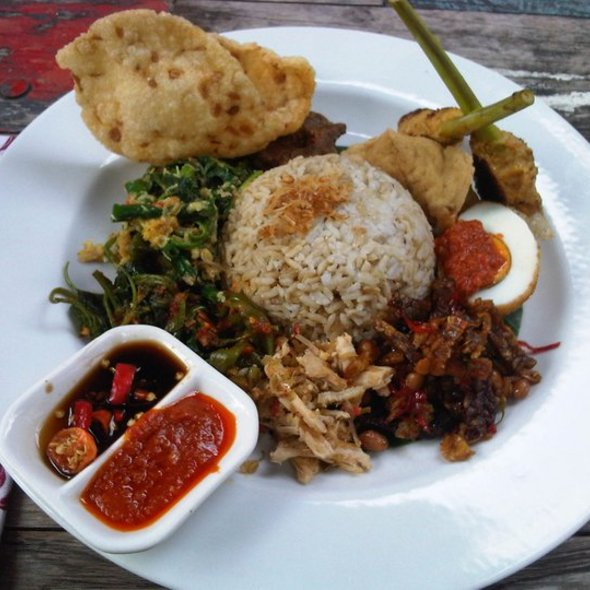 Nasi Campur Bali @ BIKU