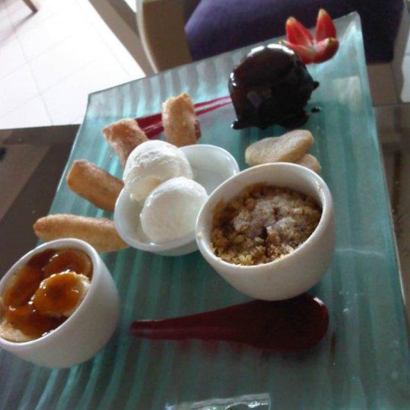 Dessert Taste Plate @ Jemme