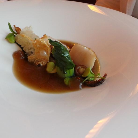 Scallop, Asian Mushrooms @ Buddenbrooks