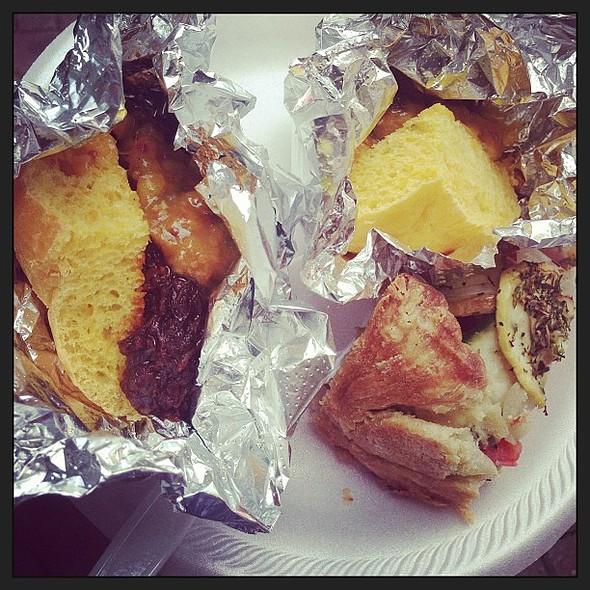 barbecue sliders @ Richmond Bacon Festival