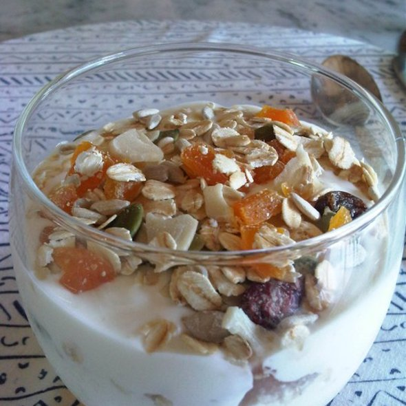 Yoghurt With Honey Nuts And Almonds @ Uma Ubud