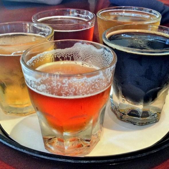 Beer Sampler - Bonaventure Brewing Co. - Westin Bonaventure Hotel, Los Angeles, CA