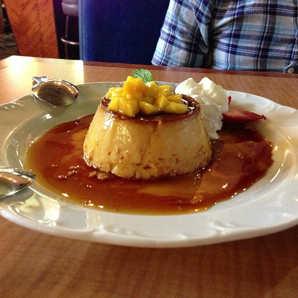 Mango Flan @ Don Pico's Restaurant