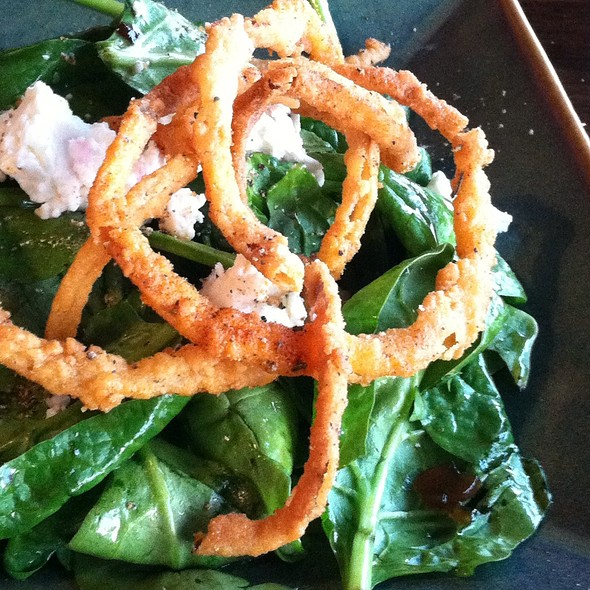 Island Spinach Salad - The Warehouse, Marina Del Rey, CA