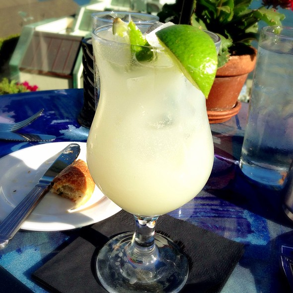Lychee Margarita - Geoffrey's Restaurant, Malibu, CA