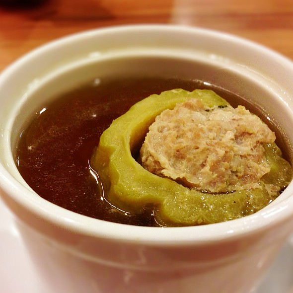 Stuffed Bitter Melon Soup   ต้มมะระยัดไส้ @ Bluespice & Herbs By Seefah @ Terminal21