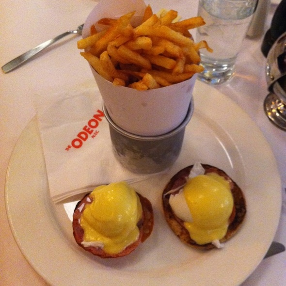 Specialty Egg Benedict @ The Odeon