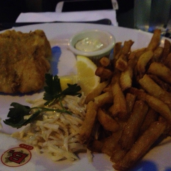 Fish and Frites - B. Cafe West, New York, NY