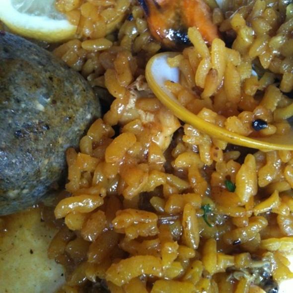 Arroz a la Piedra @ Restaurante La Paella