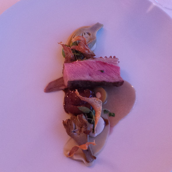 Lamb with Artichokes, Beans and Olives @ Buddenbrooks