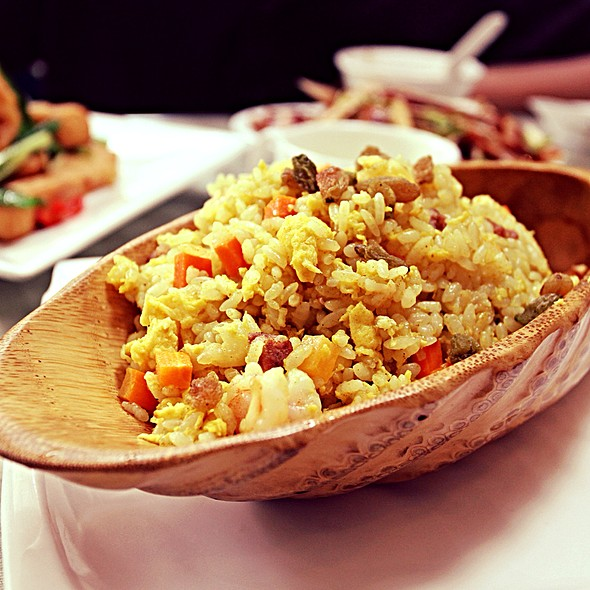 Pineapple Bacon Fried Rice @ Hua Yue Lou