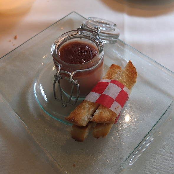 Foie Gras and Chicken Liver Parfait - Trius Winery Restaurant, Niagara-on-the-Lake, ON