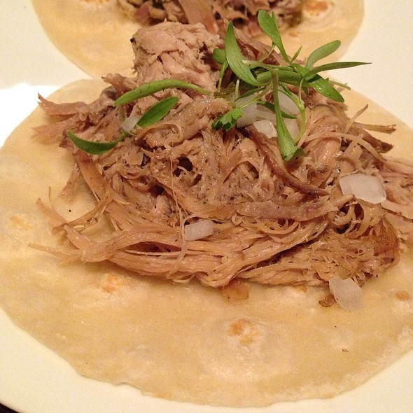 carnitas tacos - Empellon Cocina, New York, NY