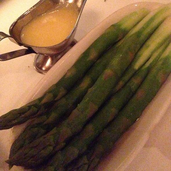 Steamed Asparagus With Hollandaise Sauce - Nero's Italian Steakhouse, Atlantic City, NJ