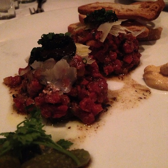 steak tartare - Eddie V's - Scottsdale Quarter, Scottsdale, AZ