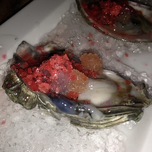 Oysters With Pop Rocks!!!  @ Mehtaphor