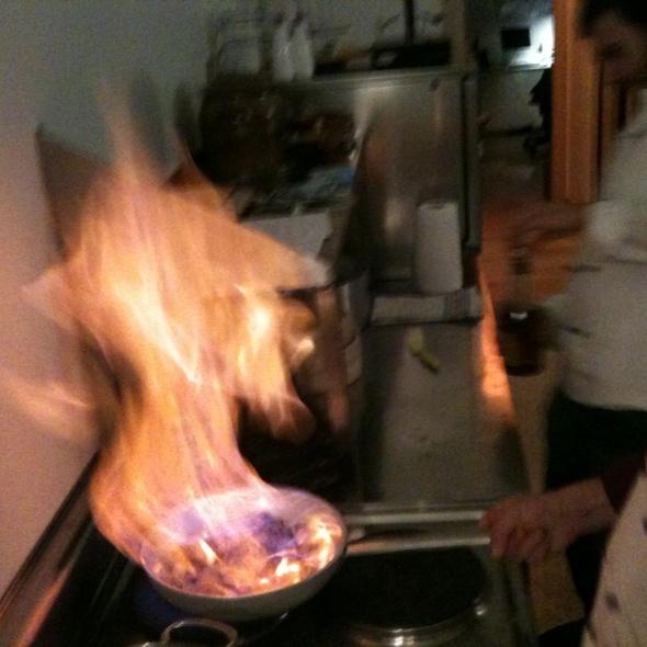 ci penso io - paolo sarpi, 58 - foodspotting - Cucina Flambè