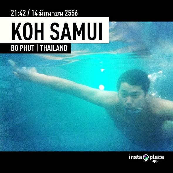 หายใจทางผิวหนัง  @ koh samui