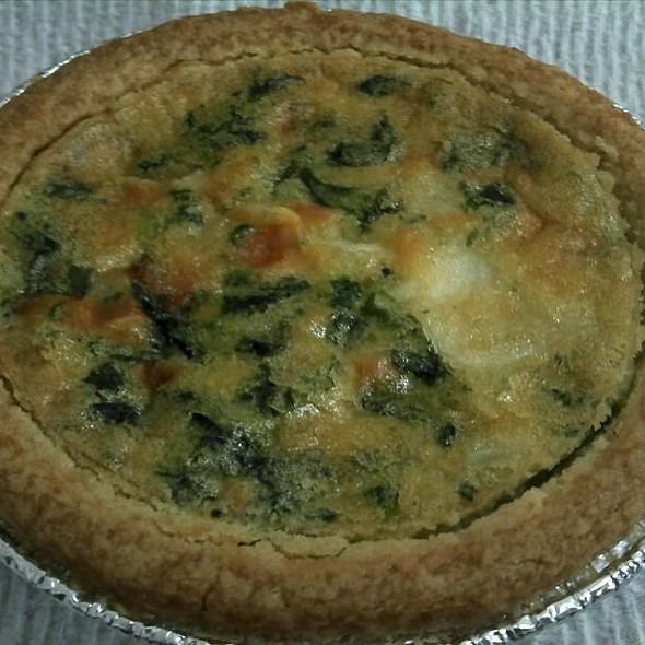 Vegetable Quiche @ Sconees Bakery