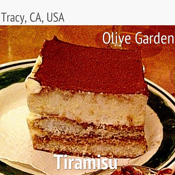 Tiramisu At Olive Garden