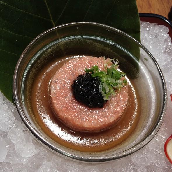 Toro Tartare With Caviar @ Nobu