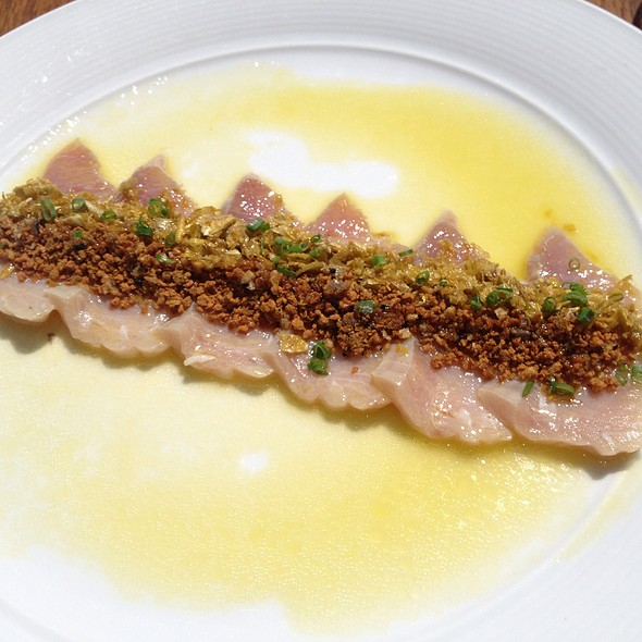 Albacore With Meyer Lemon And Truffles @ Nobu