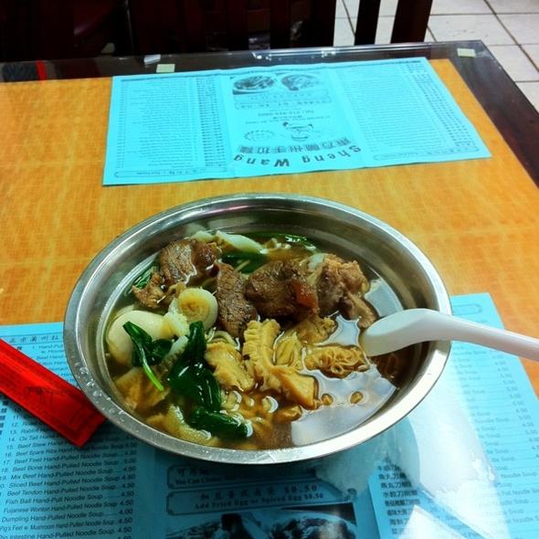 Brisket Hand Pulled Noodles @ Sheng Wang