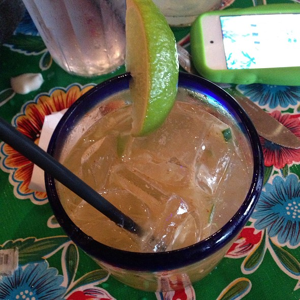 Fire And Ice: Tequila, Lime, Cucumber, Sriracha, Agave @ La Cocina
