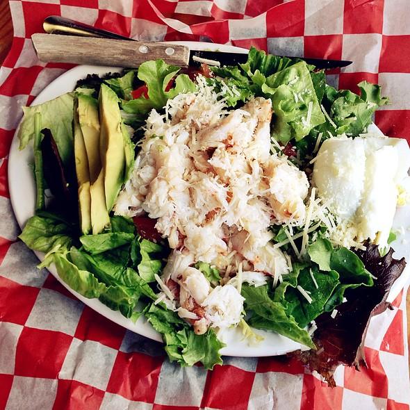 Dungeness Crab Louis Salad @ Sam's Seaside Cafe