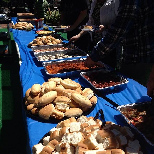 Sliders Spread @ Seasons Catering