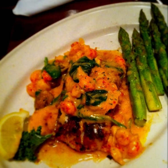 Costa Rican Mahi Yvette @ Pappas Restaurants: Pappadeaux Seafood Kitchen