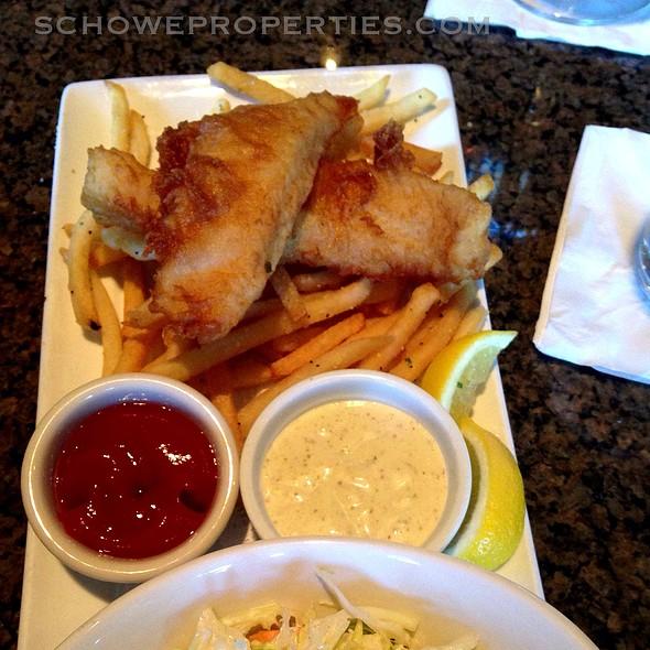 Fish & Chips - Arnold Palmer's Restaurant, La Quinta, CA