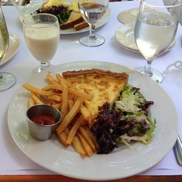 Grilled Salmon With Asparagus Quiche - Petits Plats, Washington, DC