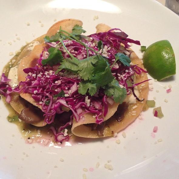 Squash Blossom Quesadilla @ Cookshop Restaurant & Bar