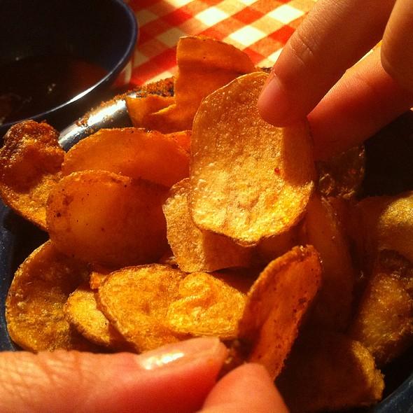 Freshly Made Bbq Potato Chips