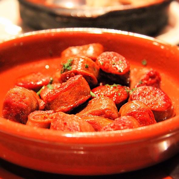 Pan Fried Chorizo @ Las Tapas