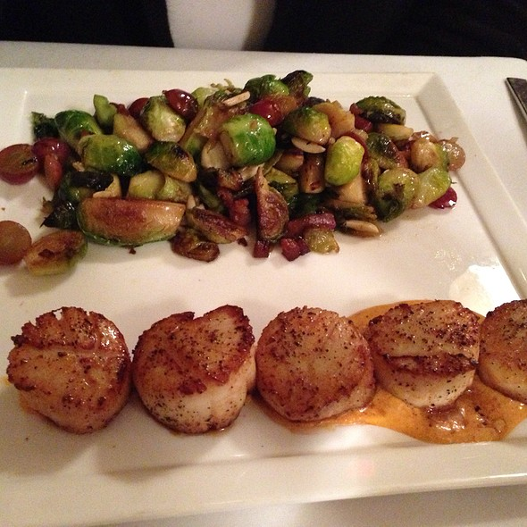 Scallops With Brussel Sprouts - PAIRINGS palate + plate, Cranford, NJ