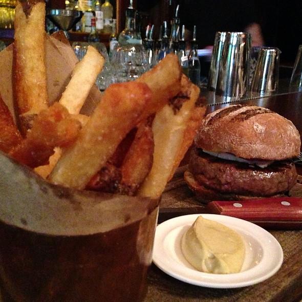 Lamb Burger At The Breslin Bar Dining Room