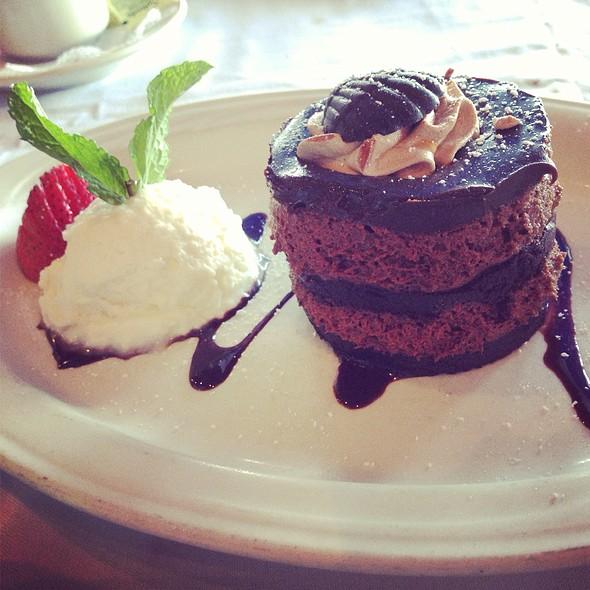 Double Chocolate Cake - Caffe Luna Rosa, Delray Beach, FL