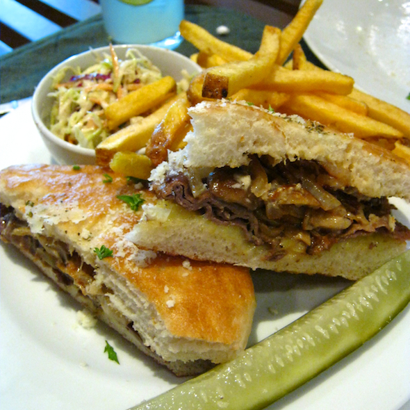 Roadhouse Philly Steak Sandwich