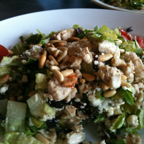 Chopped Chicken Gorgonzola Salad