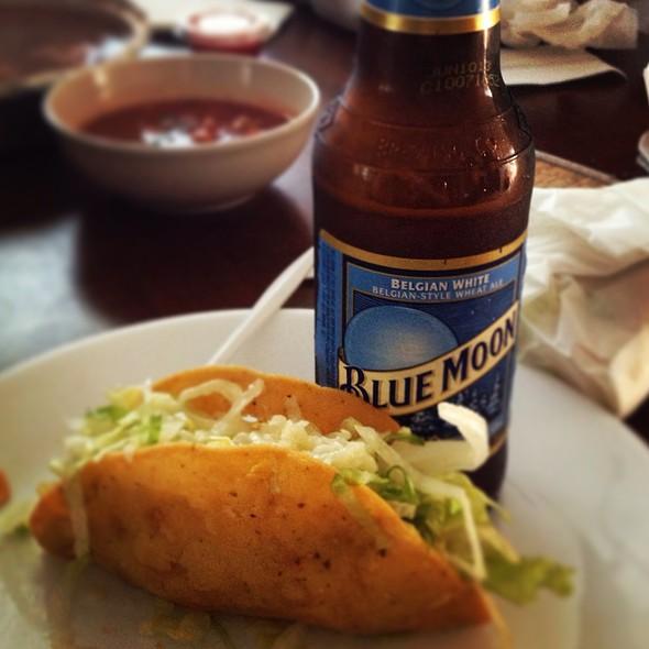 Crispy Chicken Tacos @ Los Panchos
