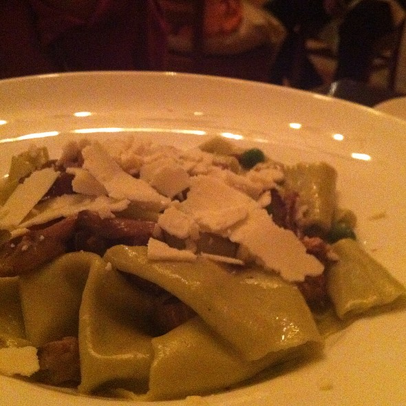 Pappardelle With Peas And Mushrooms - Tomasso Trattoria, Southborough, MA