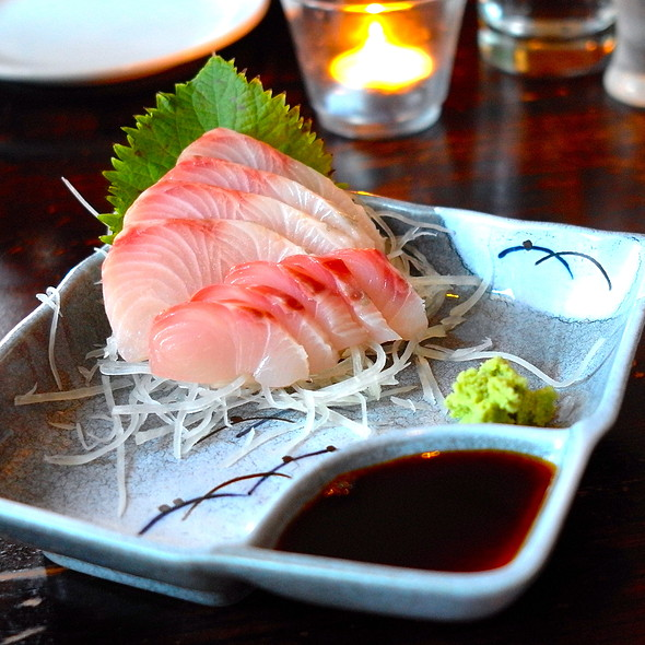 Kampachi Sashimi - Nobuo at Teeter House, Phoenix, AZ