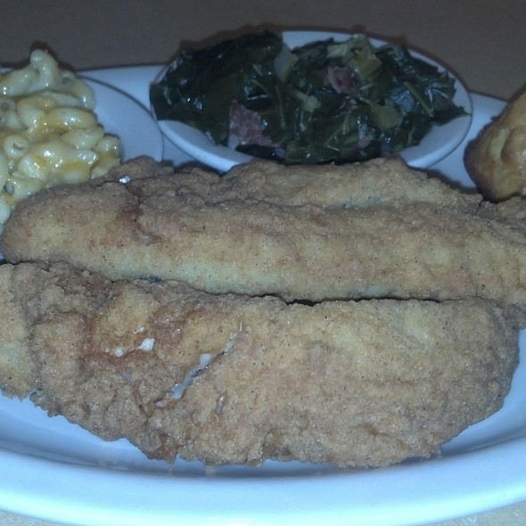 Fried Whiting @ Soul Appetit
